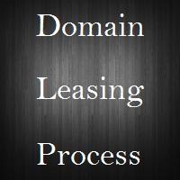 domain name leasing process