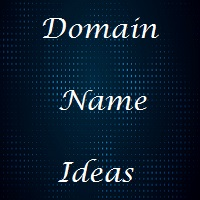 domain name generator or domain name ideas